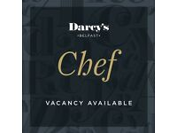 Experienced chef vacancy | Darcy's Belfast