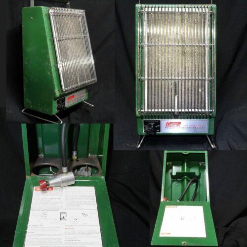 Vintage Coleman Propane Catalytic Heater #5445F131/2000-4000 BTU 9/79 USA  #95