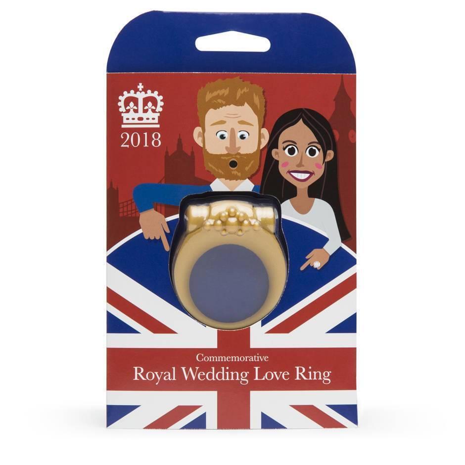 Lovehoney Royal Wedding Vibrating Love Ring Meghan Harry Adult Toy