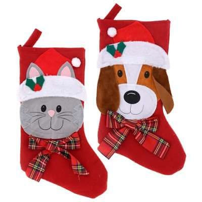 Christmas House Cat Dog Pet Stockings, 18 in. w](Pet Christmas Stockings)