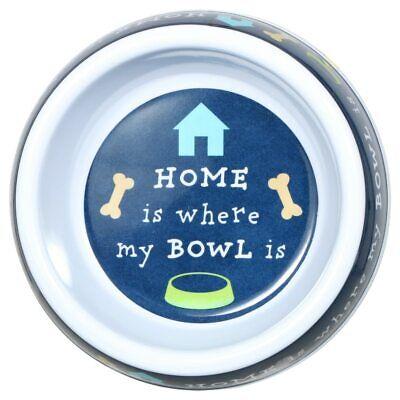 Greenbrier Kennel Club Decorative Melamine Dog Bowls, 7x1.75 in. NWT