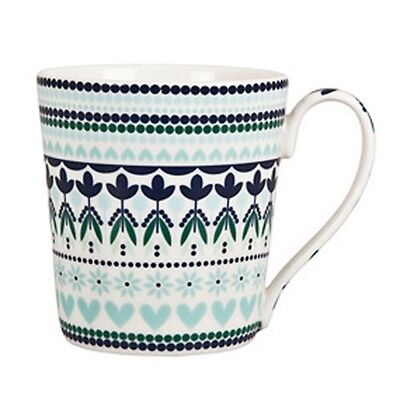 $144! NWT Denby Monsoon Tangier Set of 4 Coffee Tea Kitchen Mugs!