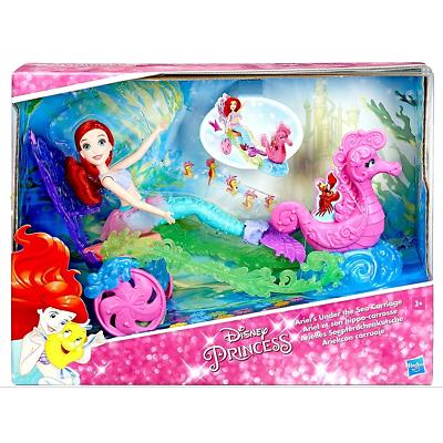 Ariel La Petite Sirène et son Hippo-Carrosse