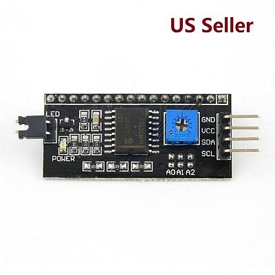 Iici2ctwi Serial Interface Board Module Port For Arduino 1602lcd Display
