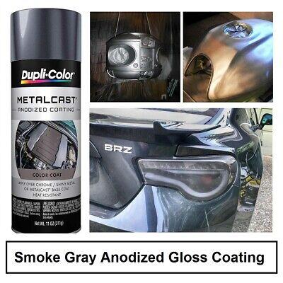 Smoke Gray Anodized Gloss Coating Brake Caliper Engine High Heat Paint Spray