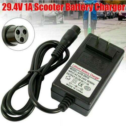 Universal 29.4V 1A Charger Adapter For Hoverboard Balancing Scooter Wheel Smart