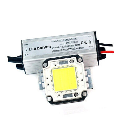 20w Led Driver Ac85-265v20w Cool White High Power Led Bead 2000lm 20watt Bulbs