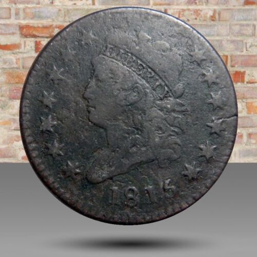 "Large cent/penny ""1815"" altered date classic turban"