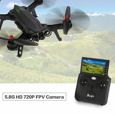 MJX Bugs 6 B6 720P Camera 5.8G FPV Racing Drone Brushless Monitor RC Quadcopt HO