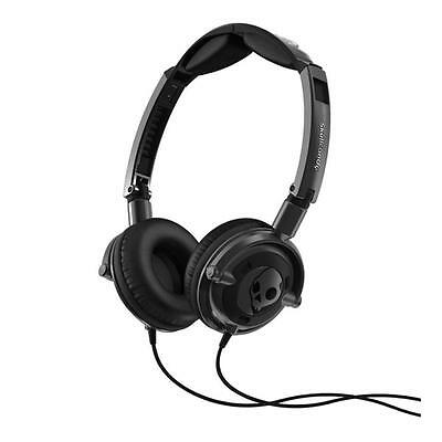Skullcandy Lowrider Headphones In Gunmetal And Black New With Warranty