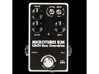 DARKGLASS MICROTUBES B3K BASS GUITAR OVERDRIVE / DISTORTION EFFECTS PEDAL NEW!