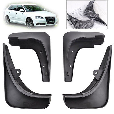 For Audi A3 2007 2013 Sportback Type 8P Mud Flaps Guards Splash Flare Front Rear