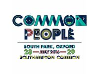 2 Saturday Tickets to Common People (Oxford)