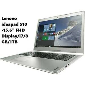 Lenovo ideapad 510 -15.6 FHD Display/i7/8GB Ram /1TB HDD Laptop Doveton Casey Area Preview