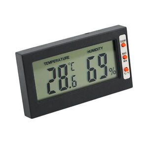 New Digital LCD Thermometer Hygrometer Temperature Humidity Meter Gauge S#