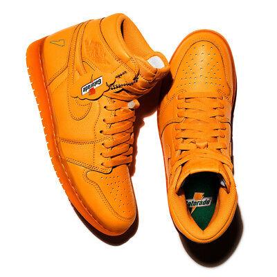 Air Jordan 1 Retro High Og Gatorade Orange Peel Us Mens Shoe Sizes Aj5997 880