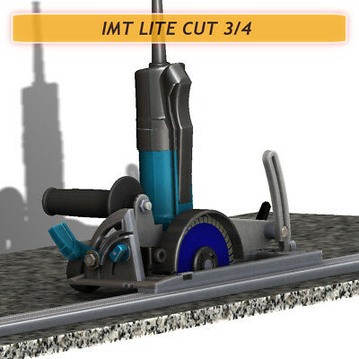 Imt Lite Cut 34 Ip580s Wet Cutting Rail Saw For Cutting Granite