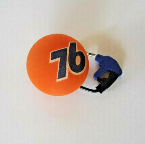 76 ANTENNA NESCAR CAR UNION BALL TOPPER WITH GAS PUMP   OFFICIAL FUEL OF NESCAR