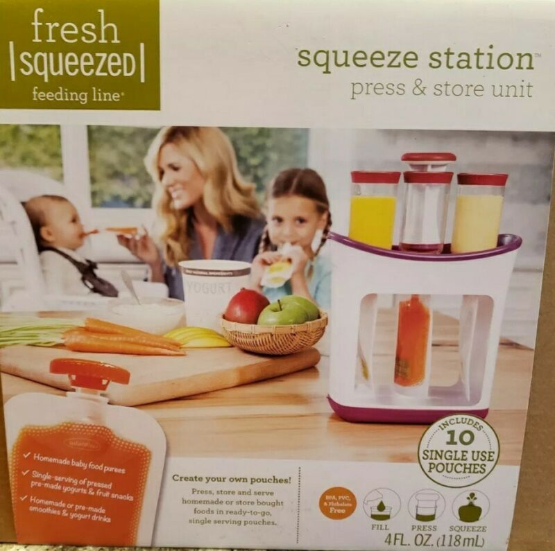 Fresh Squeezed Squeeze Station Fill Your Own Pouches