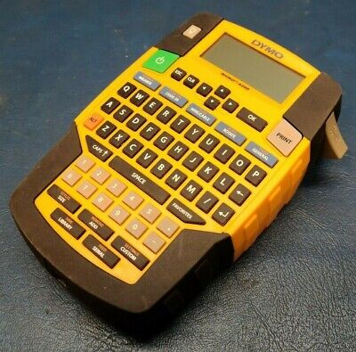 Dymo Rhino 4200 Handheld Portable Label Maker Tested Working.