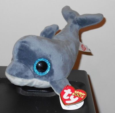 "Ty Beanie Boos - ECHO the 6"" Exclusive Dolphin ~ NEW"