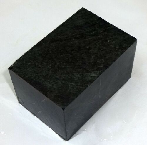 Black Steatite Carving Stone for Peace Pipe & Crafts, Stone Slab 8-2