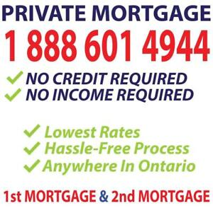 PRIVATE MORTGAGE FROM DIRECT PRIVATE LENDERS -- FAST APPROVAL OVER THE PHONE CALL & GET APPROVED 1-888-601-4944
