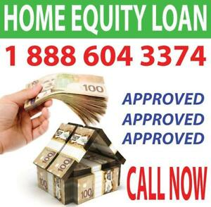 HOME EQUITY LENDERS -- 1st Mortgage, 2nd Mortgage, Home Equity Loans & more- APPROVED ON EQUITY NOW- Call 1-888-604-3374
