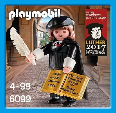 Playmobil 16th century Protestant reformer Martin Luther - Rare
