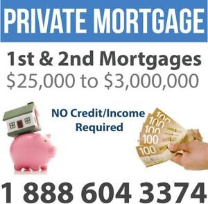 Fast Private Mortgage / Private Lender / 2nd Mortgage / Home Equity Loan -- BAD CREDIT? OK! CALL NOW