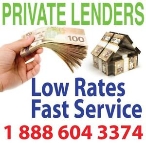 Private Lender For 1st Mortgage, 2nd Mortgage To 90% LTV - Low Rates - Fast Service - Call 1-888-604-3374