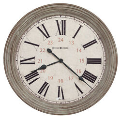 HOWARD MILLER NEW OVER-SIZED GALLERY WALL CLOCK 30.75  NESTO 625-626, 625626