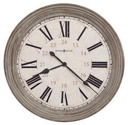 HOWARD MILLER NEW OVER-SIZED GALLERY WALL CLOCK 30.75  NESTO 625-626, 625626