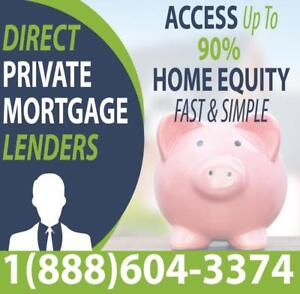 SECOND MORTGAGE FROM DIRECT LENDERS ONTARIO-WIDE - Get Approved On Home Equity Regardless Of Credit or Income