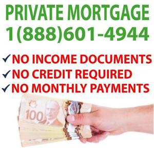 PRIVATE MORTGAGE | PRIVATE LENDERS | SECOND MORTGAGE Get Approved In 60 Seconds Over The Phone | CALL NOW 1-888-601-4944
