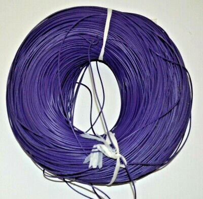 22 Awg Gauge Stranded Wire Purple 50ft 300 Volts