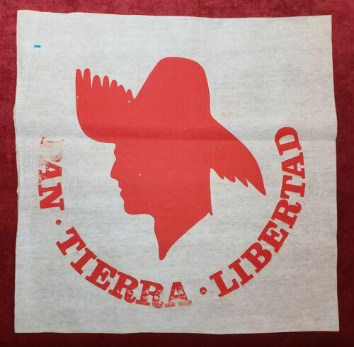 VTG POLITICAL PARTY FLAG / PPD PARTIDO POPULAR / PUERTO RICO 1960