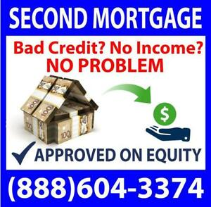 DIRECT PRIVATE LENDER FOR ANY SITUATION -- PRIVATE FIRST MORTGAGE - PRIVATE SECOND MORTGAGE - APPROVED OVER THE PHONE