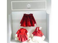 La marquesita real red velvet dress lmr spanish