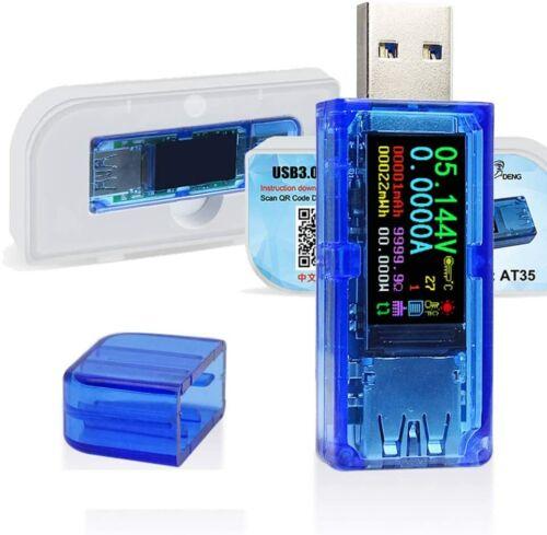 AT35 USB 3.0 Tester / Power Meter 3.7-30V 0-4A Voltage Tester Multimeter V & C +