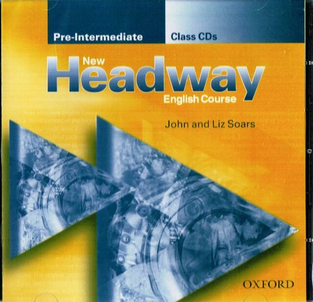 Oxford NEW HEADWAY Pre-Intermediate Class CD's @BRAND NEW & SEALED@