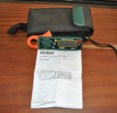 EXTECH AC/DC POWER CLAMP METER Power Clamp Meter