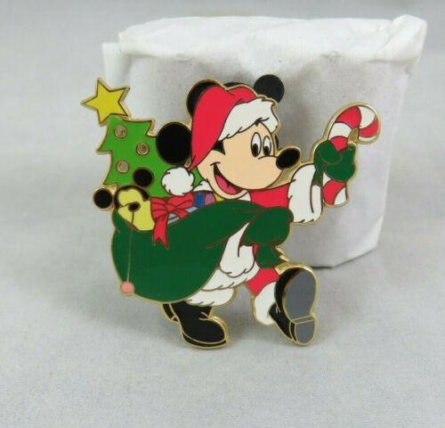 Walt Disney World Pin - Mickey Mouse Santa Claus 2001 - Christmas - Light Up