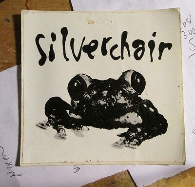 SILVERCHAIR STICKER COLLECTIBLE RARE VINTAGE 90'S METAL LIVE