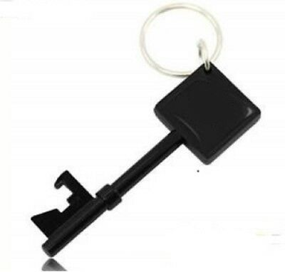 Black Key shaped Bottle Opener Bar Beer Portable Keychain Christmas US Seller