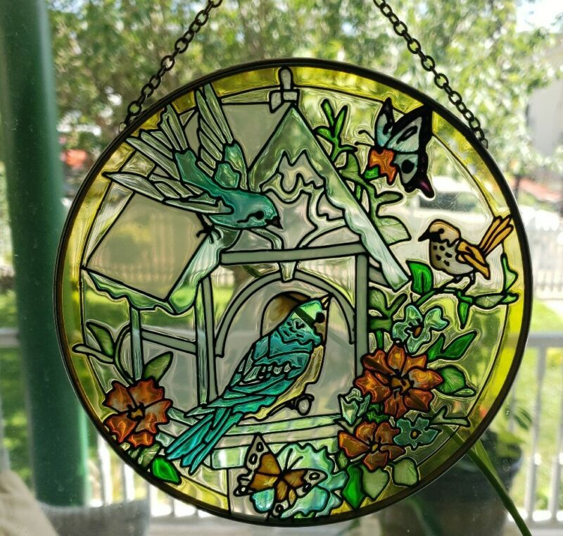 Suncatcher - Bird-House Pattern