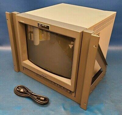"SONY PVM-14N1U 14"" Trinitron Color Monitor, 500 TV Line Resolution, Tested."
