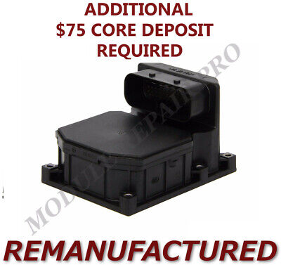 REMAN 1999-2003 BMW 540i ABS Pump Control Module 0265950002 DSC >EXCHANGE