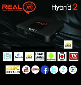 2019 LATEST REAL TV HYBRID 2 MODEL REALTV WITH FREE 1 YEAR SUBSC Doveton Casey Area Preview