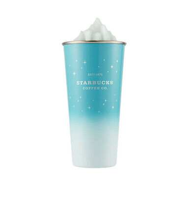 Starbucks Korea 2019 Winter Limited SS DW Glacial To Go Tumbler 473ml+Tracking